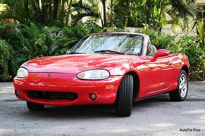 Mazda : MX-5 Miata SE Convertible 2-Door 2000 mazda miata low miles