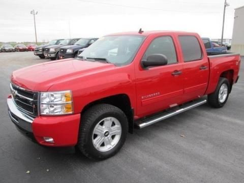 2010 CHEVROLET SILVERADO 1500 4 DOOR CREW CAB SHORT BED TRUCK