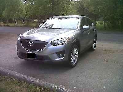 Mazda : CX-5 grand touring 2014 mazda cx 5 grand touring loaded low miles leather awd silver ulev mint