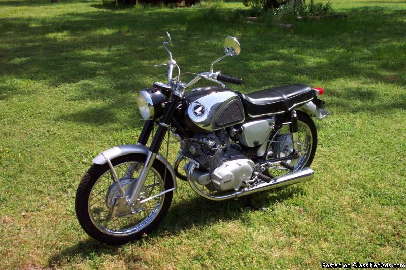 1966 Honda CB-77 for sale