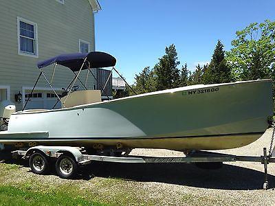 Custom Built Center Console 25' Boat, E-Tech 175 HP, Classic Design, 2012