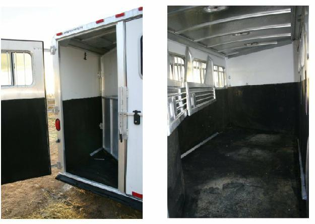 All mats included 2002 Featherlite 3 Horse trailer