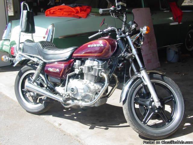 1979 cm400a honda