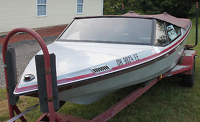 1988 Mastercraft Prostar 190 Ski Boat Inboard wakeboard