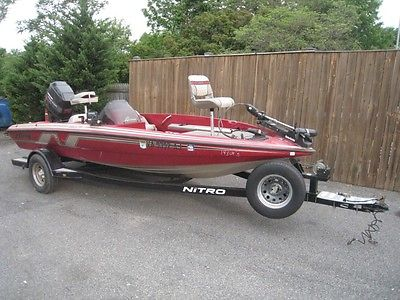 1995 TRACKER NITRO 180TF 115HP PRO SERIES MERCURY TRACKER LIVE WELL BASS BOAT