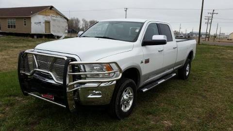 2012 RAM 3500 4 DOOR CREW CAB LONG BED TRUCK