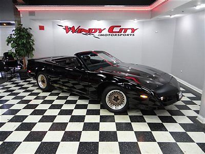 Pontiac : Firebird 2dr Trans Am Convertible 1992 pontiac trans am convertible 1 of 663 produced black on black 5.0 tpi wow