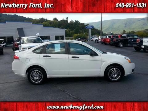 2011 FORD FOCUS 4 DOOR SEDAN