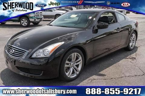 2009 INFINITI G37 2 DOOR COUPE