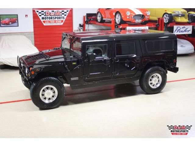 Hummer : H1 H1 WAGON 01 hummer h 1 wagon diesel only 10 819 miles 2 owner third row seat monsoon audio