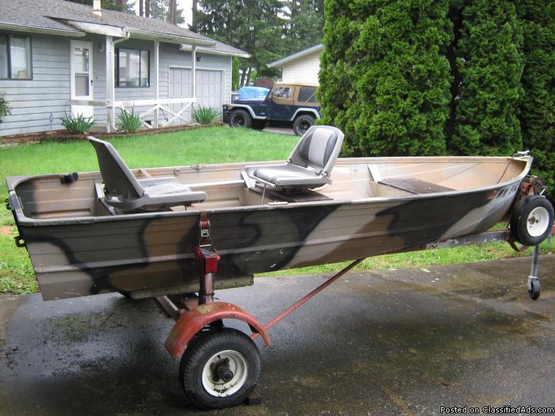 12' Alum. boat