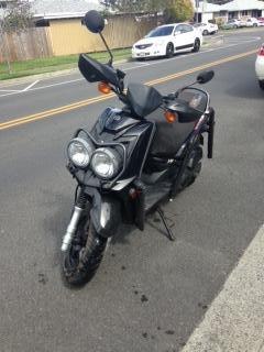 2012 yamaha scooter zuma 125cc