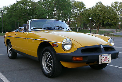MG : MGB MK IV Convertible 2-Door 1978 mgb roadster convertible low mileage one owner car