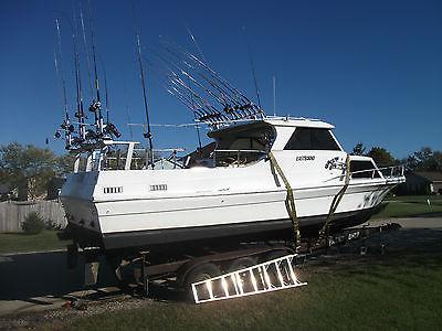 SportCraft 30-Foot Salmon Fishing Boat including all Trolling Equipment