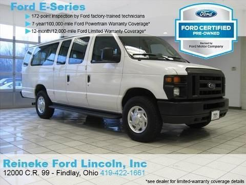 2012 FORD ECONOLINE 350 SUPER DUTY 3 DOOR VAN