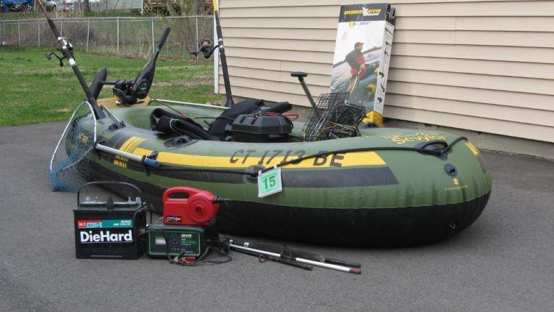 Fish hunter 360 boats for sale for Sevylor fish hunter 360