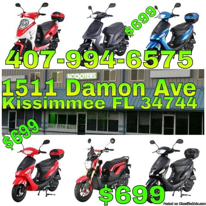 SCOOTERS 49cc MOTORAS 49cc SPECIAL $699