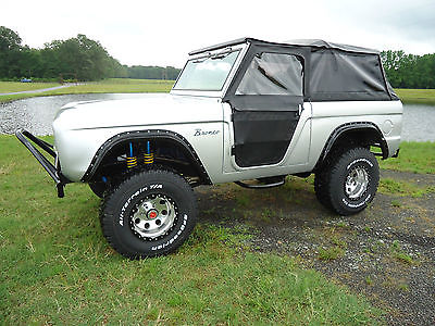 Ford : Bronco STD 1968 ford bronco frame off restoration summertime ready look