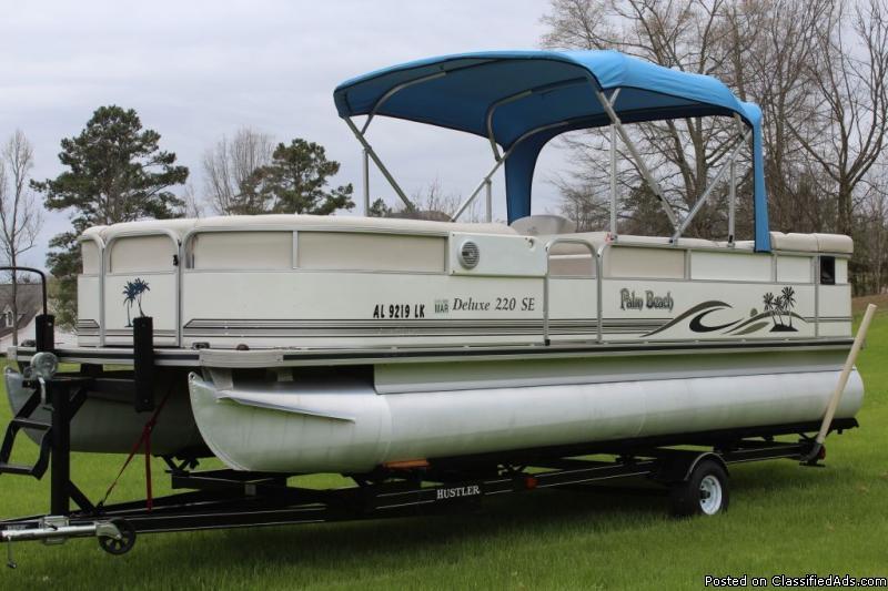 2006 Palm Beach Pontoon Boats For Sale