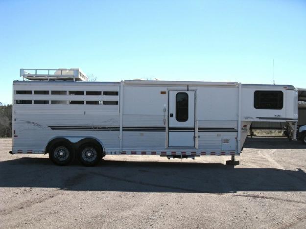 2000 Sundowner 7 Tall Pueblo Gooseneck LQ