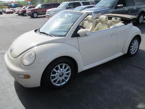 2005 VOLKSWAGEN NEW BEETLE 2 DOOR CONVERTIBLE
