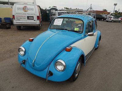 Volkswagen : Beetle - Classic Beetle, Bug 1974 volkswagen beetle classic