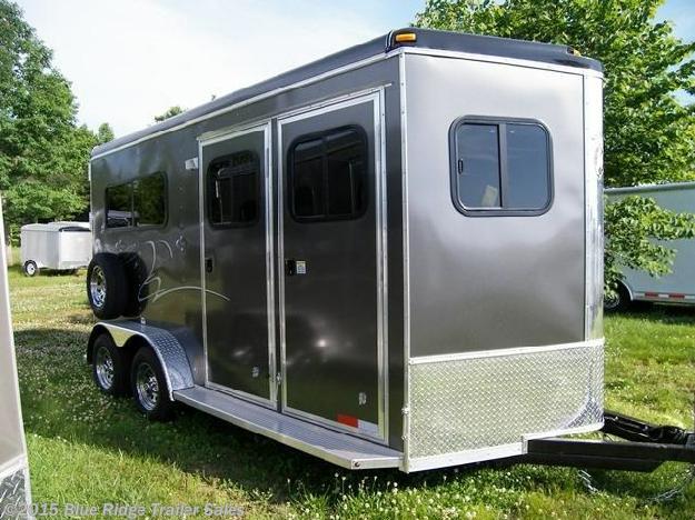 New Horse Trailer - 2015 Homesteader Stallion 2H BP with dress