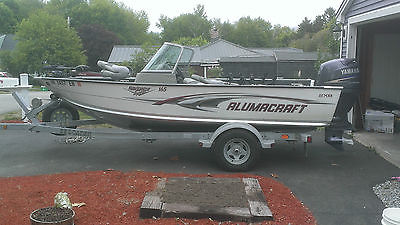 2007 Alumacraft Navigator 165 with 90hp Yamaha 4 stroke