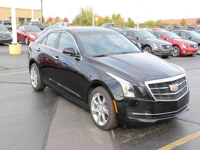 2015 CADILLAC ATS Sedan AWD 2.0T Luxury 4dr Sedan