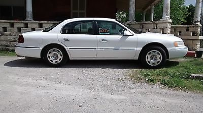 Lincoln : Continental Base Sedan 4-Door 99 lincoln continental white w tan interior leather seats cd tapedeck