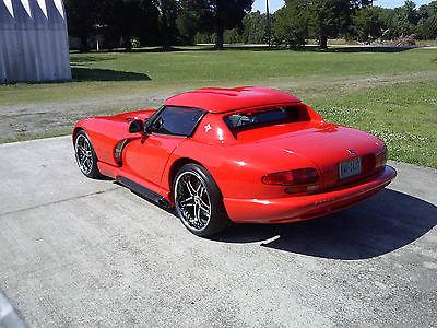 Dodge : Viper RT/10 1993 dodge viper base convertible 2 door 8.0 l