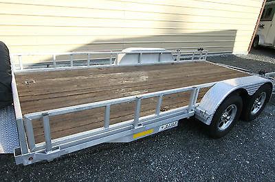 Custom Aluminum Car/ATV/cargo trailer