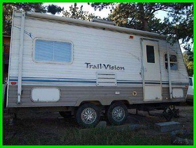 2003 R-Vision Trail-Vision 20RKS 21' Travel TRLR Sleeps 4 A/C Awning Solar Panel