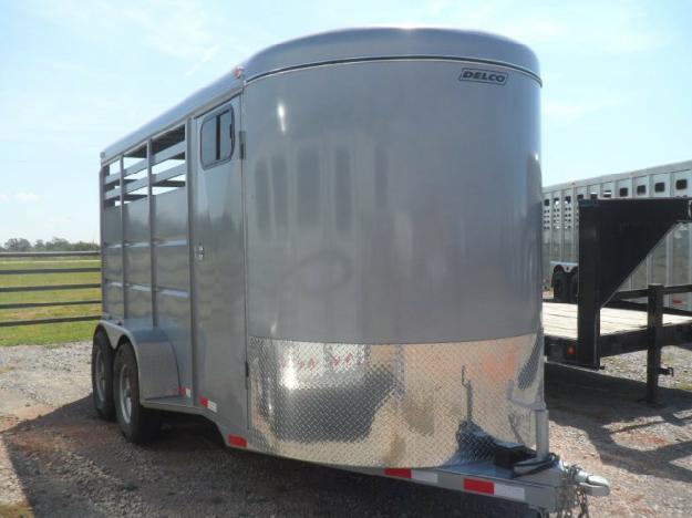 Delco 3 Horse Bumper Pull