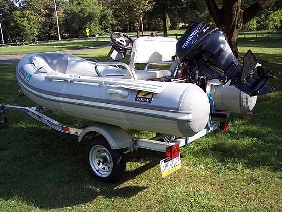 10' 2011 Zodiac Inflatable