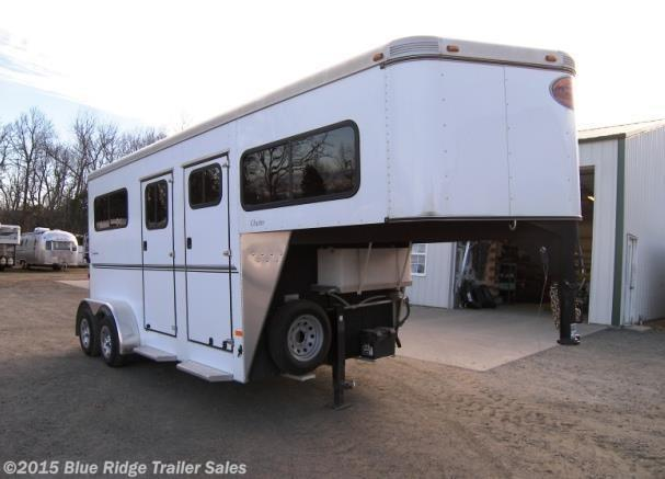 Used Horse Trailer - 2011 Sundowner 2 Horse GN, Straight load Step Up with Dress