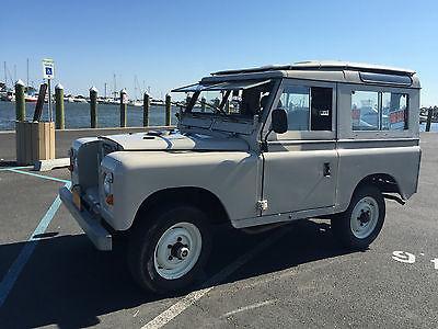 Land Rover : Other Series III 1973 land rover series iii 2 door with safari window and top