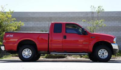 FORD F-250 Red 2002