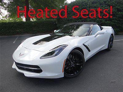 Chevrolet : Corvette Z51 2LT 2014 chevrolet corvette z 51 convertible 2 lt pkg comp seats mag ride