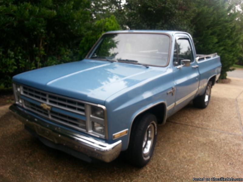 1985 chevy truck cars for sale. Black Bedroom Furniture Sets. Home Design Ideas