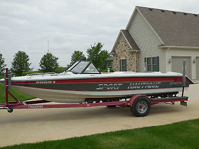 1992 Sport Nautique with Open Bow by Correct Craft..Excellent original condition