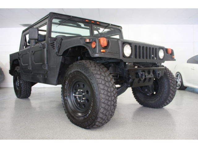 Hummer : H1 4dr Open Top 1995 am general hummer h 1 wagon diesel open top line x body lifted 40 inch tires