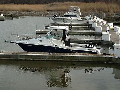 Sea Swirl Striper 2601 26' Walkaround W/A Hard T-Top Ocean Lake Fishing Slamon