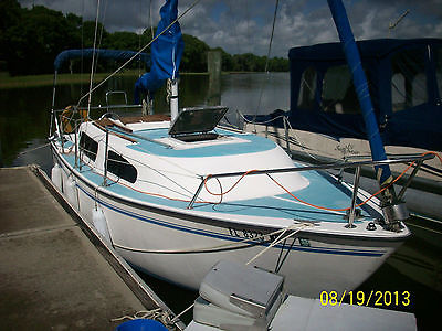 American Mariner 8 Meter sailboat with diesel engine-very good condition