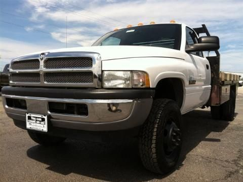 2002 DODGE RAM 3500 CHASSIS CAB 2 DOOR CHASSIS TRUCK