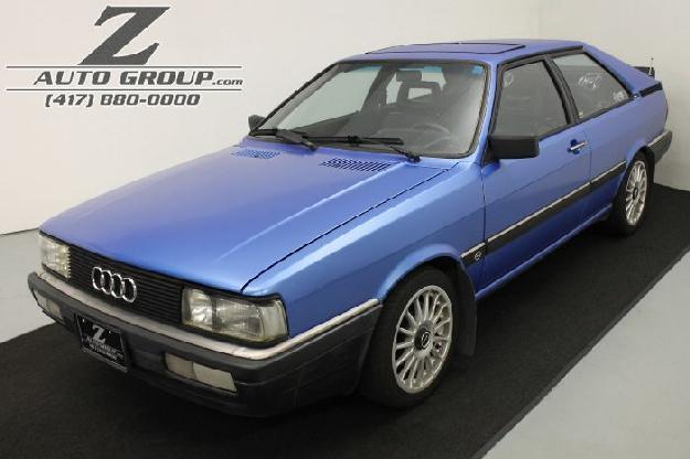 1986 Audi 4000 GT - Z Auto Group, Springfield Missouri