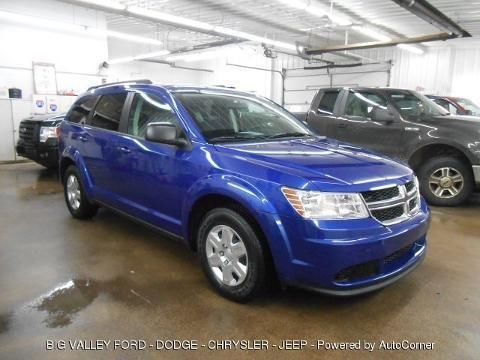 2012 DODGE JOURNEY 4 DOOR SUV