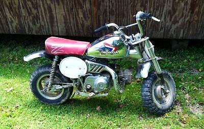 Honda : Other 1986 honda z 50 r chrome christmas edition good condition all original