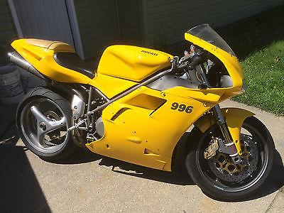 Ducati : Superbike 2000 ducati 996 cc desmoquattro superbike 13 k miles fuel injected