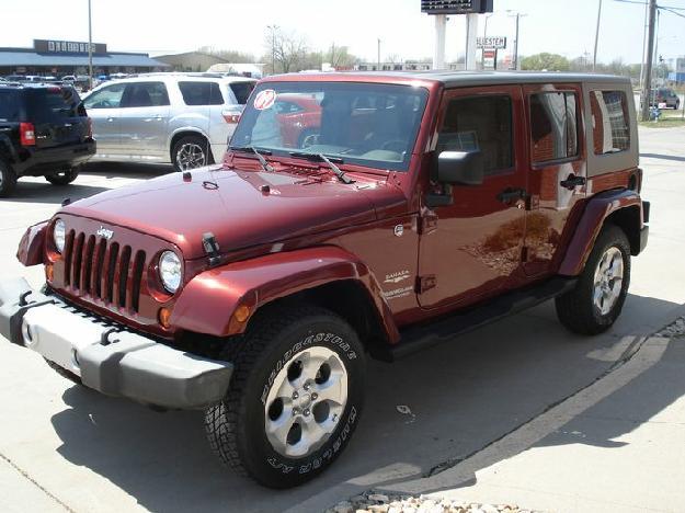 2009 jeep wrangler unlimited suv sahara cars for sale. Black Bedroom Furniture Sets. Home Design Ideas